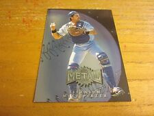 Mike Piazza 1996 Metal Universe Titanium #6 Trading Card MLB Baseball Dodgers