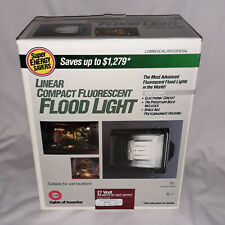 NEW Lights of America USA Weather Proof 27 Watt Flood Light Compact Fluorescent