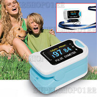 OLED Pulsossimetro Pulsoximetro Ossimetro SPO2 Finger Tip Pulse Oximeter CMS50NA