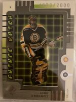 John Grahame Bruins 1999-00 SP Authentic Future Watch 1673/2000