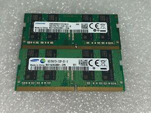 Samsung 32GB RAM (2x16GB) 2RX8 PC4-2133P-SE1-10 DDR4 2133MHz M471A2K43BB1-CPB