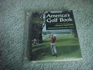 1970 Golf Magazine Americas Golf Book Hardcover with Dust Jacket