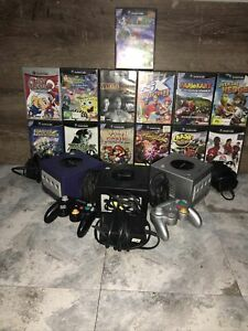 3 Nintendo Gamecubes With 13 Games And All Cables And 2 Controllers All Working