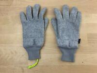 Patagonia Men's Gray Synchilla Sweater Winter Ski Vintage Gloves Large $50