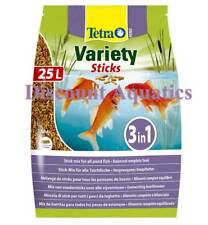 Tetra Pond Variety Sticks Floating Fish Food Koi Goldfish Orfe 4100g 25 Litre