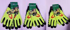 Paul Menard Performance Gloves - Menards Work Glove - Spandex - Leather Palm NEW