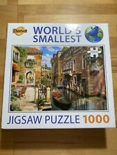Cheatwell 13985 Venice 1000 Pieces Worlds Smallest Jigsaw Puzzle VGC