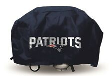 "New England Patriots Vinyl Grill Cover [NEW] NFL 68"" Wide Grilling Barbeque CDG"