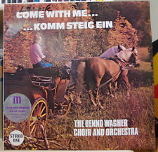 THE BENNO WAGNER CHOIR AND ORCHESTRA COME WITH ME UK PRESS LP STUDIO ONE  1976