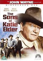 THE SONS OF KATIE ELDER DVD John Wayne Dean Martin Original UK Rel Brand New R2