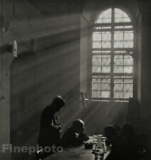1922/78 JOSEF SUDEK Czech Photo Gravure Veterans Hospital Medicine Spiritual Art