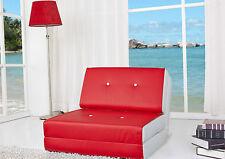 fauteuil chauffeuse convertible en lit d'appoint  plusieur couleur