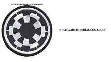 "Star Wars Imperial Empire Forces Symbol COG Logo 3"" Uniform Patch US Seller"