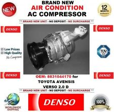 DENSO AIR CONDITIONING AC COMPRESSOR 8831044170 for TOYOTA AVENSIS VERSO 2.0 D