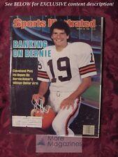 SPORTS Illustrated August 26 1985 BERNIE KOSAR John Riggins Greg Lemond Mike Rut