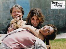 4 Photos Cinéma 21x28cm (1997) TROP (PEU) D'AMOUR Jacques Doillon TBE
