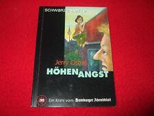 SCHWARZE HEFTE Band 36 - Höhenangst - Jerry Oster - Hamburg Krimi
