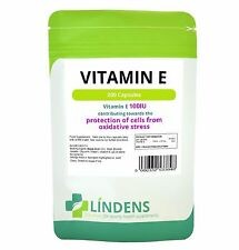 Vitamin E 100IU Capsules (200 pack) Protection of Stress From Oxidative Stress