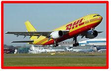 AIRPLANE ( AIRCRAFT) - SOUVENIR NOVELTY FRIDGE MAGNET - NEW