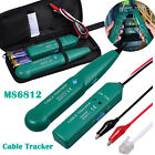 Cable Finder Tone Generator Probe Tracker Wire Network Tester Tracer Kit w/ Bag