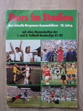 No PANINI Album BERGMANN Stars Im Stadion 1981-1982 81/82 Bundesliga FOOTBALL c