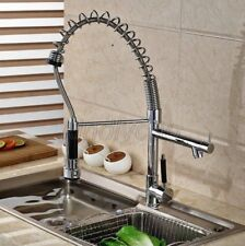 Chrome Commercial & Home Pull Out Spray Kitchen Sink Mixer Tap / Faucet Ksf078
