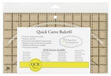 QCR Quick Curve Ruler by Sew Kind of Wonderful ~ Curved Cutting/Piecing
