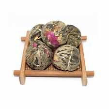 Flowering Jasmine Green Tea Balls - Hand-tied blooming tea from Loose Leafty