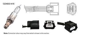 NGK NTK Oxygen Lambda Sensor OZA603-N16 fits Nissan Micra 1.2 (K13)
