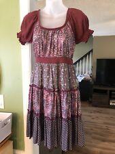 LuLumari size small Peasant Hippie Dress