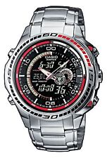 Casio Gents Wrist Watch Edifice EFA-121D-1AVEF Mens Stainless Steel Masculine