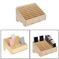 24 Zellen Multifunktionale Holz Aufbewahrungsbox Handy Repair Tool Org XKK
