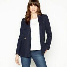 279bdfdbdef4 Linen Blend Outer Shell Blazer Coats