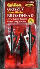 ALLEN Lightning broadheads 3pk 100 gr grain 3 blade fixed hunting deer 2 units
