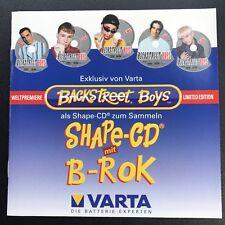 Backstreet Boys - Rare Shaped CD - Brian Littrell - Varta Shape-CD B-Rok