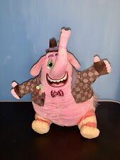 """Disney Pixar Inside Out Talking Singing BING BONG 10"""" Plush Pink Elephant"""