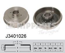2x Bremstrommel NIPPARTS J3401026