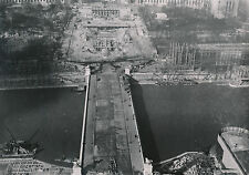 PARIS c. 1937 -  Construction Esplanade, Bassins du Trocadéro - DIV 7365
