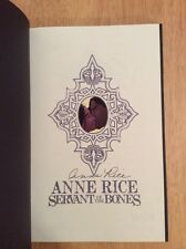 SIGNED - Anne Rice Servants Of The Bones Graphic Novel Hardcover 1 Print + Pic