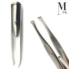 Eyebrow LED Tweezers - Precision Brow Definition Make Up Tool Applicator With Li