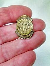 School Safety Award Patrol Padge pin VINTAGE Chicago Motor Club 1960's