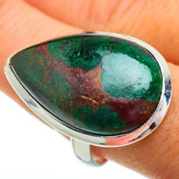Large Chrysocolla 925 Sterling Silver Ring Size 10 Ana Co Jewelry R41968F