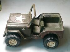Military Army Jeep Pressed Steele