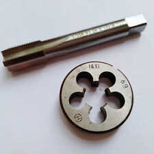 14mm x 1.0 HSS Metric Left Hand Thread Tap and Die Set M14 x 1.0mm Pitch M750