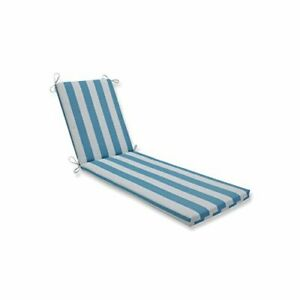 """Pillow Perfect 612935 Outdoor/Indoor Cabana Stripe Chaise Lounge Cushion 80"""" ..."""