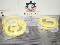 NEW Turck RKM 86-4M//S90 Minifast B  Molded Cordset To Bare Wire