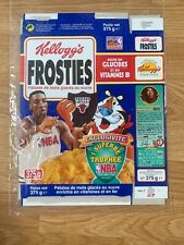 1998 Canadian Kellogg's Frosted Flakes Cereal Scottie Pippen Excellent