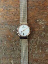 NEW Women's Skagen Ancher Date Display Mesh 2 tone Watch 355SSRS $125 +