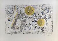 LOLO HOLMQUIST *1920 - KOMPOSITION - LITHOGRAFIE - MODERN SWEDISH ART
