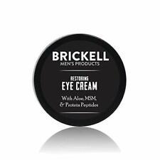 Brickell Men's Restoring Eye Cream for Men Natural and Organic Anti Aging Ey...